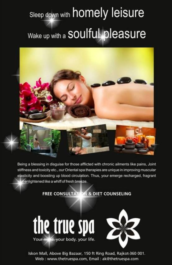 The True Spa in Rajkot at Iskon Mall - Spa, Beauty and Personal Care