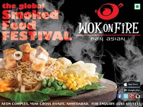 Wok on Fire Restaurant in Ahmedabad, Surat & Rajkot Address  Menu  Contact
