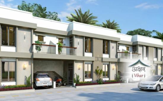 Akshar Vihar in Vadodara 3 BHK Duplexes 1BHK Tenaments at Tarsali Vadodara by Akshar Group