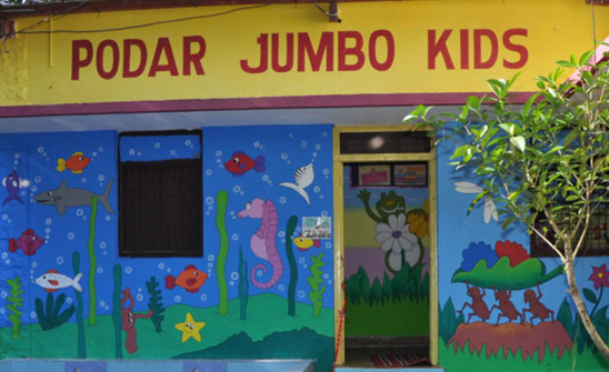 Blooming Buds by Podar Jumbo Kids in Rajkot at Sadhuvasvani Road