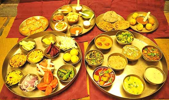 Modern Gujarati Menu in Caterers List of Best Food Items in Catering in Gujarat Cities