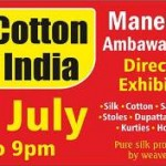 Silk & Cotton Fab of India Exhibition 2015 in Ahmedabad at Manekbaug Hall