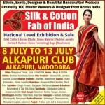 Silk & Cotton Fab of India Exhibition in Vadodara at Alkapuri Club on July 2015