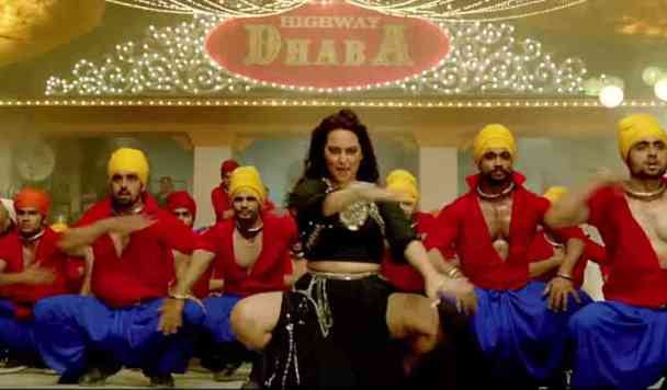 Sonakshi Sinha Hot Photos in Nachan Farrate itam Song