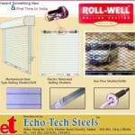Echo Tech Steel in Rajkot – Manufacturer & Supplier of Rolling shutter and Slotted Angle Rack