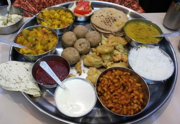 Radhe Thal Restaurant in Rajkot at Shroff Road - Address - Contact - Menu - Review