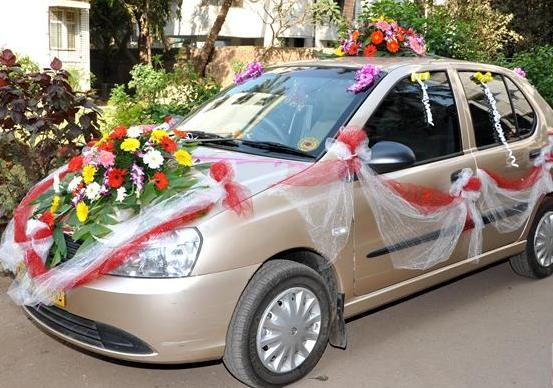 Wheel O City Auto Spa & Accessories in Rajkot - Wheel O City Wedding Car Decoration Service