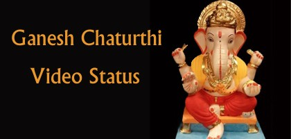 Download Ganesh Chaturthi Video Status 2018 - Ganpati Status Video Song